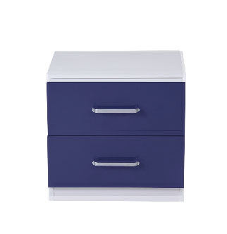 Charlie Cobalt Blue Bedside Table