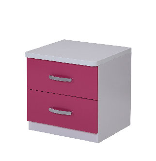 Charlie Rose Bedside Table Close