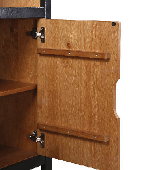 Eton Bookcase Opened